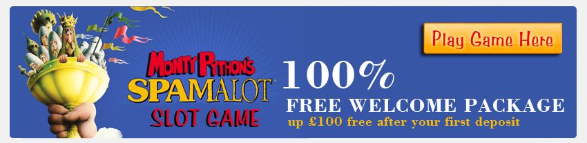 Brand new slot game from William Hill Casino - Monty Python